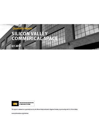 Silicon Valley Commercial Space Q1 2017 cover