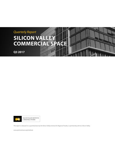 Silicon Valley Commercial Space Q3 2017 cover