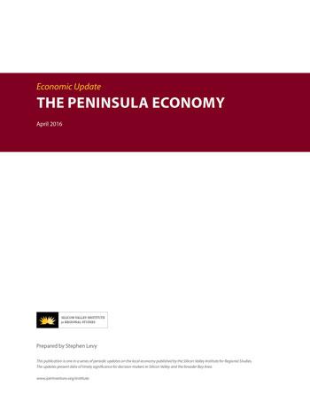 The Peninsula Economy - April 2016 report cover