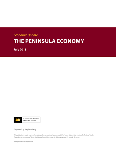 The Peninsula Economy - July 2018 report cover